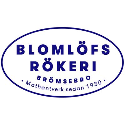 Logotyp Blomlöfs Rökeri