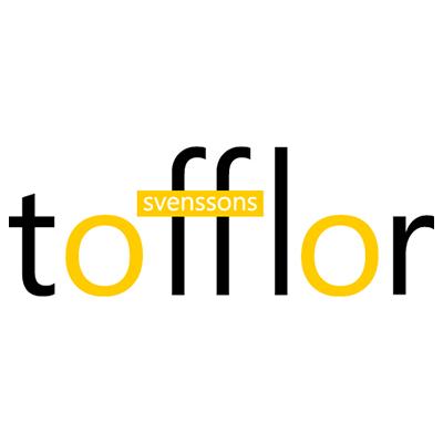 Logotyp Svenssons trätoffelfabrik