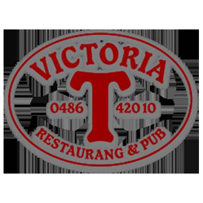 Logotyp Viktoria Restaurang & Pub
